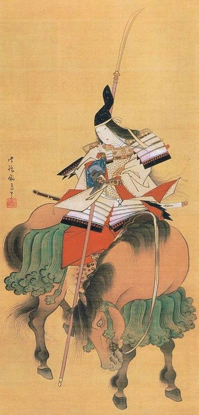 Image-on-Silk-of-Tomoe-Gozen