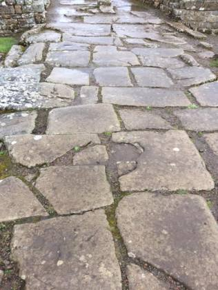 Main street, Vindolanda Roman fort