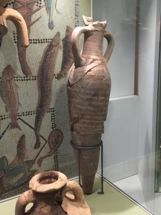 Clay amphora, Vindolanda Roman fort